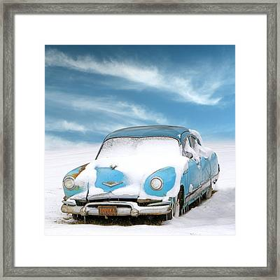 Topeka Blues Framed Print