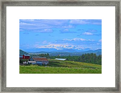 Topless Framed Print by Lynn Hopwood