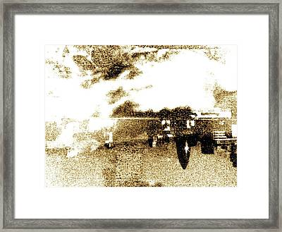 Tops-turvy Framed Print by Dorothy Rafferty