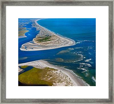 Topsail Glorious View Framed Print by Betsy Knapp