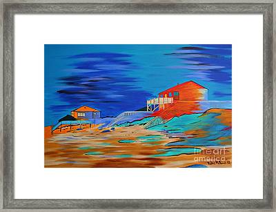 Topsail Island Framed Print by Heike McDoniel