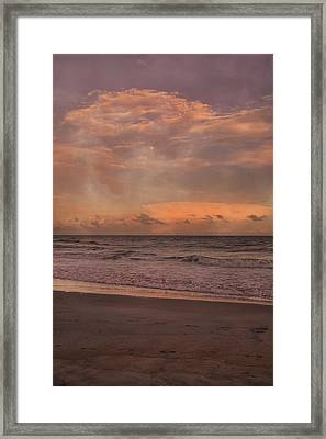 Topsail Island Perfect Evening Framed Print by Betsy Knapp