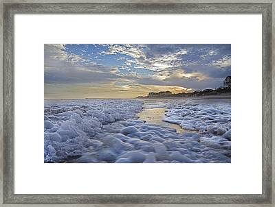 Topsail Pathway Framed Print