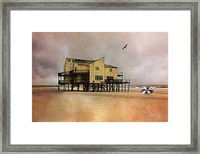 Topsail's Past II Framed Print by Betsy C Knapp