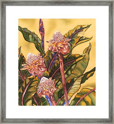 Torch Ginger Framed Print