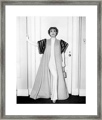Torch Song, Joan Crawford Framed Print by Everett
