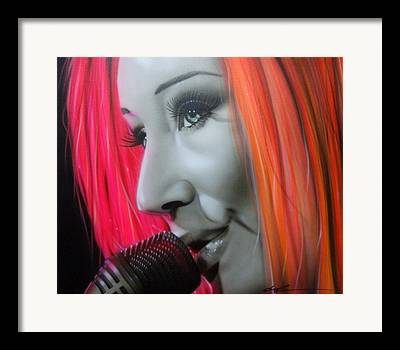 Tori Amos Framed Prints