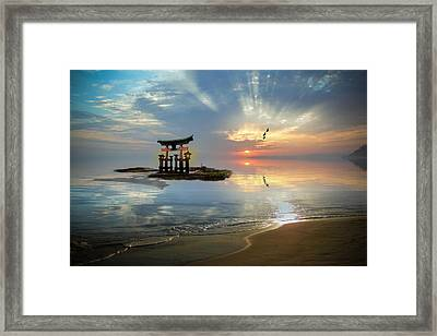 Tori Sunset Framed Print
