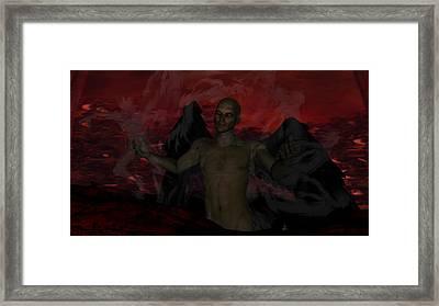 Torment Framed Print by Jean Gugliuzza