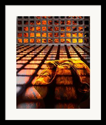 Hades Framed Prints