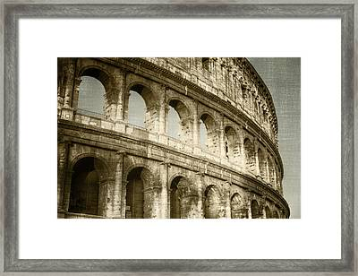 Torn From The Pages Framed Print