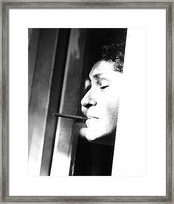 Torn Framed Print by Joe Geraci