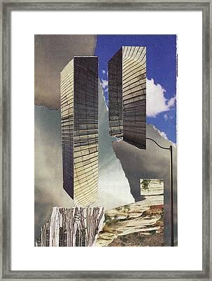 Torn Framed Print by Matthew Hoffman