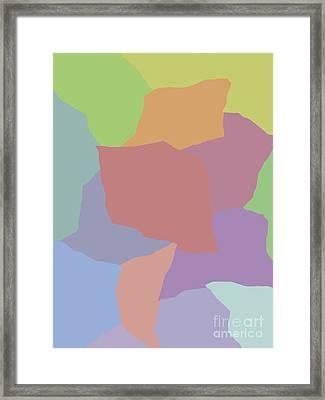 Torn Paper Framed Print