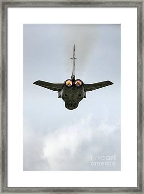 Tornado Afterburners Framed Print by J Biggadike