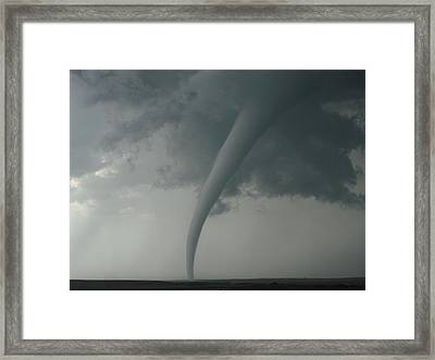Tornado Country Framed Print by Ed Sweeney