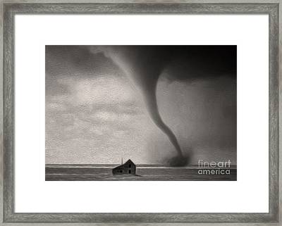 Tornado Framed Print by Gregory Dyer