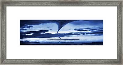 Tornado In The Sky Framed Print by Panoramic Images