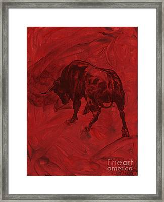 Toro Painting Framed Print