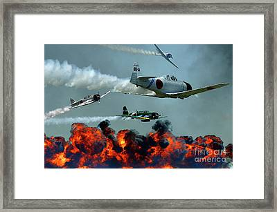 Toro Toro Toro Framed Print by Bob Christopher