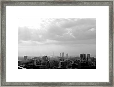 Toronto Framed Print by BandC  Photography