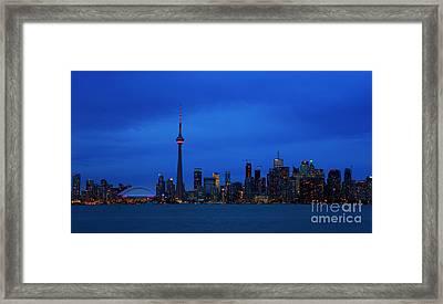 Toronto Blues... Framed Print
