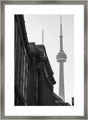 Toronto Cn Tower Framed Print