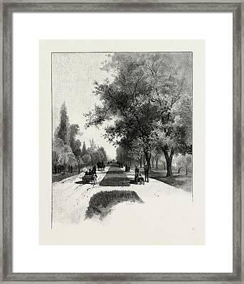 Toronto, College Avenue Queen Street, Canada Framed Print