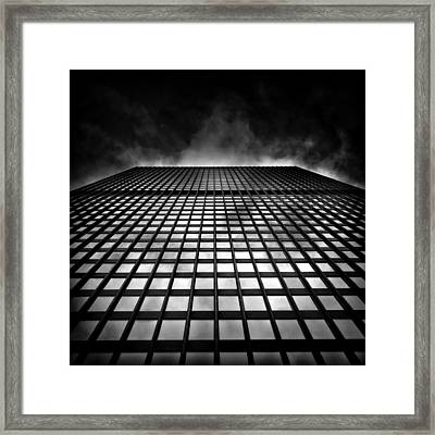 Toronto Dominion Centre No 79 Wellington St W Framed Print by Brian Carson