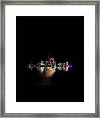 Toronto Flood No 3 My Island Framed Print by Brian Carson