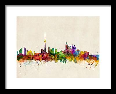 Toronto Framed Prints