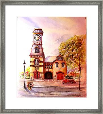 Toronto's Old Yorkville Fire Hall Framed Print by Patricia Schneider Mitchell