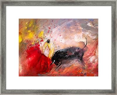 Toroscape 48 Framed Print by Miki De Goodaboom