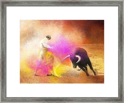 Toroscape 55 Framed Print by Miki De Goodaboom