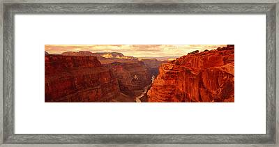 Toroweap Point, Grand Canyon, Arizona Framed Print by Panoramic Images