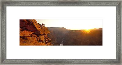 Toroweap Point Grand Canyon National Framed Print by Panoramic Images