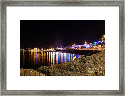 Torquay Lights Framed Print
