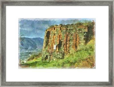 Torre  Granarolo 5497i - By Enrico Pelos Framed Print by Enrico Pelos