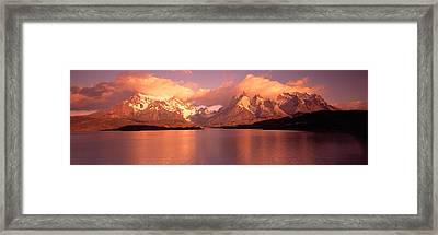 Torres De Paine National Park Chile Framed Print by Panoramic Images