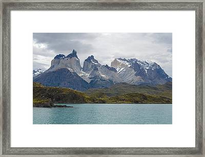 Torres Del Paine Framed Print by Eric Dewar