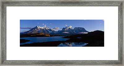 Torres Del Paine, Patagonia, Chile Framed Print by Panoramic Images