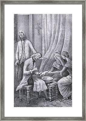 Torres Villarroel, Diego De 1693-1770 Framed Print by Everett