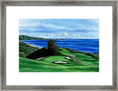 Torrey Pine Golf Course San Diego California Framed Print