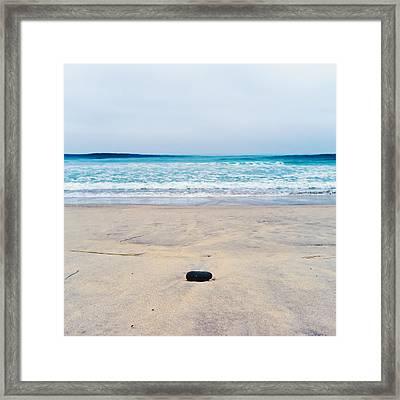 Torrey Pines Beach Framed Print by Tanya Harrison
