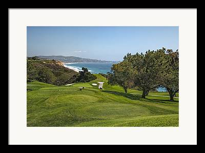 Fairway Framed Prints