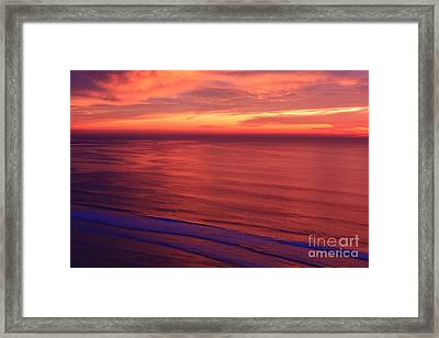 Framed Print featuring the photograph Torrey Pines Twilight by John F Tsumas