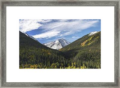 Torreys Peak 3 Framed Print by Aaron Spong