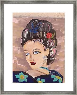 Torri Framed Print by Karen Carnow