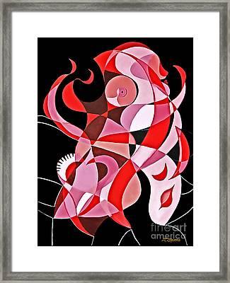 Torso Framed Print by Joseph J Stevens