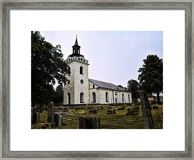 Torstuna Kyrka Church Framed Print